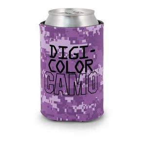 DigiColor Camo Scuba Pocket Coolie Can Cover (4 Color Process)